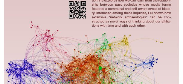 Flyer for virtual talk for Friending the Past: The Sense of History in the Digital Age on 5/4/21 from 11-12PM