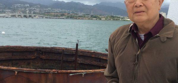 Chi-yun Chen headshot on a boat