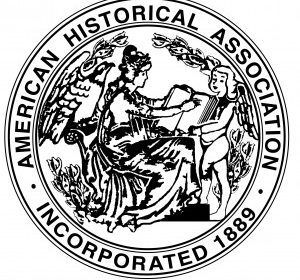 American Historical Association Incorporated in 1889 seal
