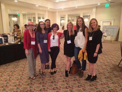 Eileen Boris, Nicole De Silva, Sarah Case, Mariel Aquino, Laura Moore, Caitlin Rathe, and Sasha Coles at WAWH 2017