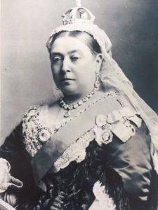 Queen Victoria black and white