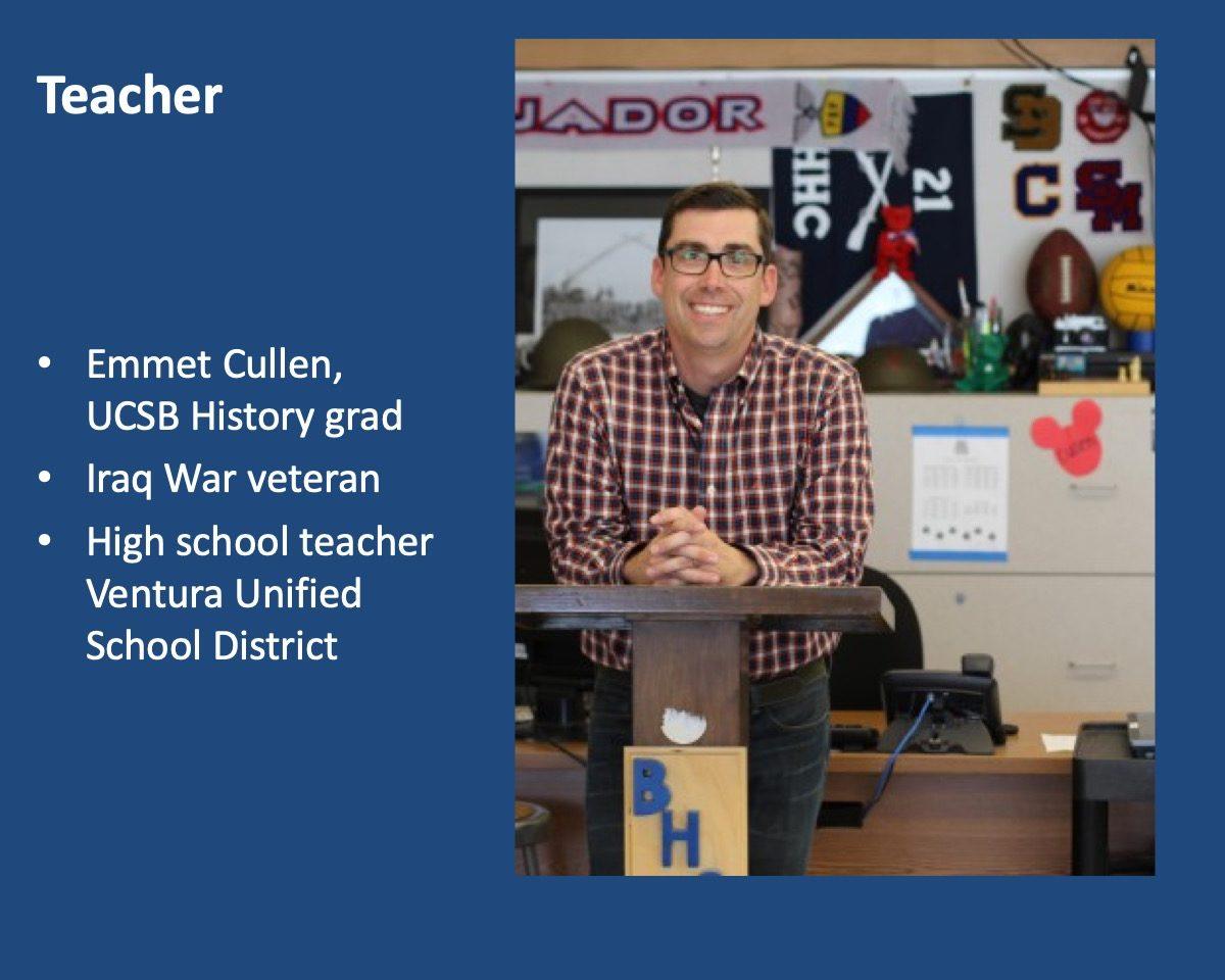 powerpoint slide about Emmet Cullen