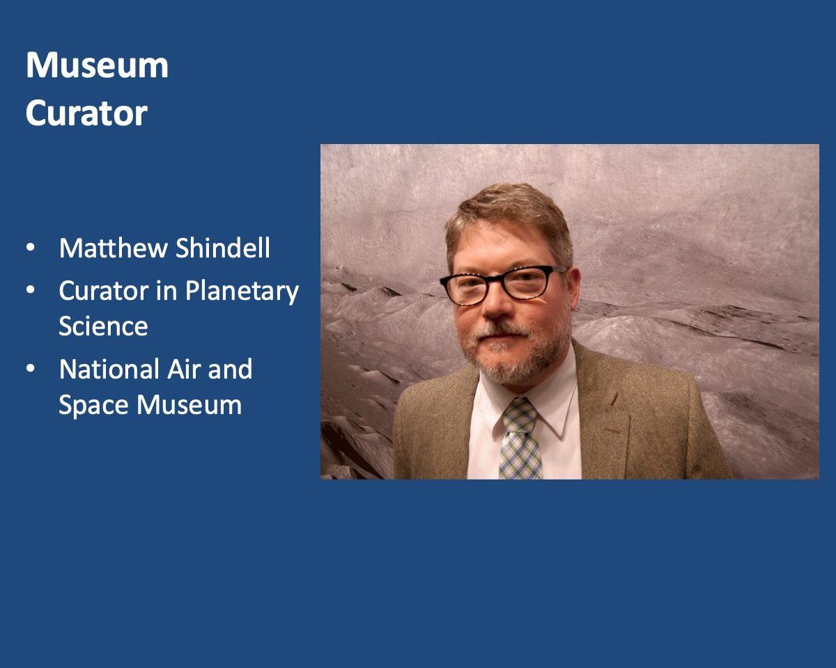 powerpoint slide about Matthew Shindell