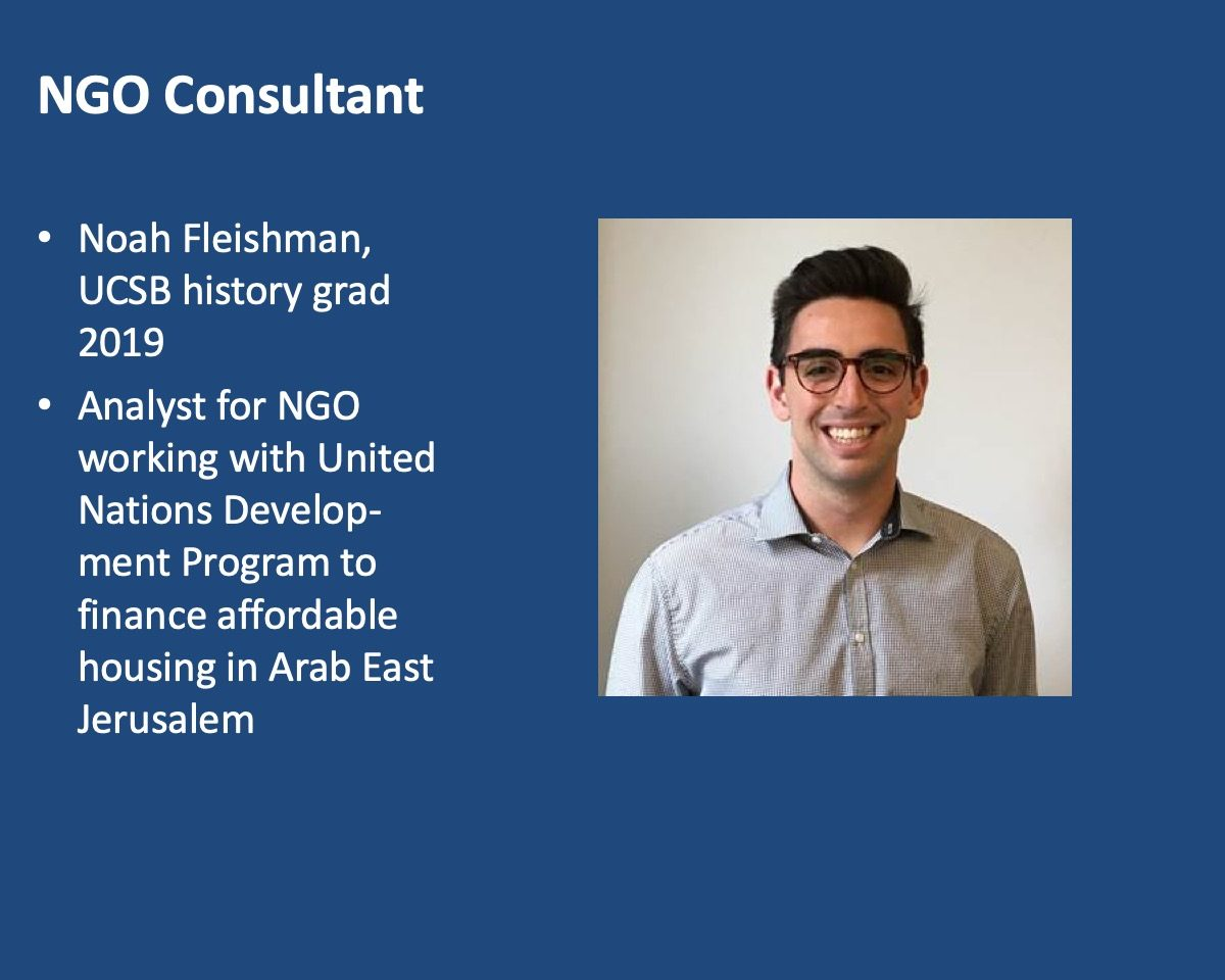 powerpoint slide about Noah Fleishman