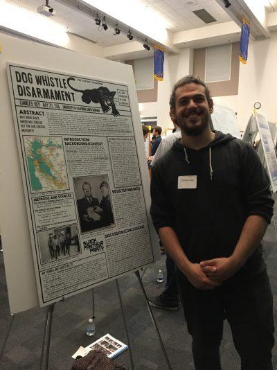 CJ Key at the Undergraduate Research Colloquium