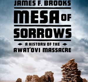 Mesa of Sorrows book cover by James F. Brooks